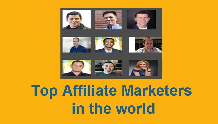 Top affiliate marketers in the world 1