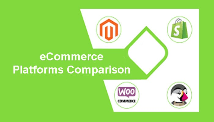 Ecommerce platform comparison with review and rated