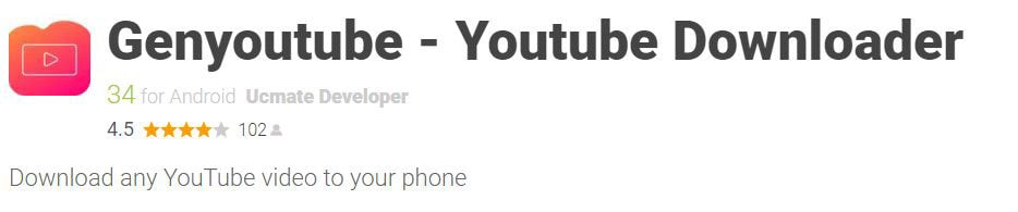 Free Video Downloader for YouTube.