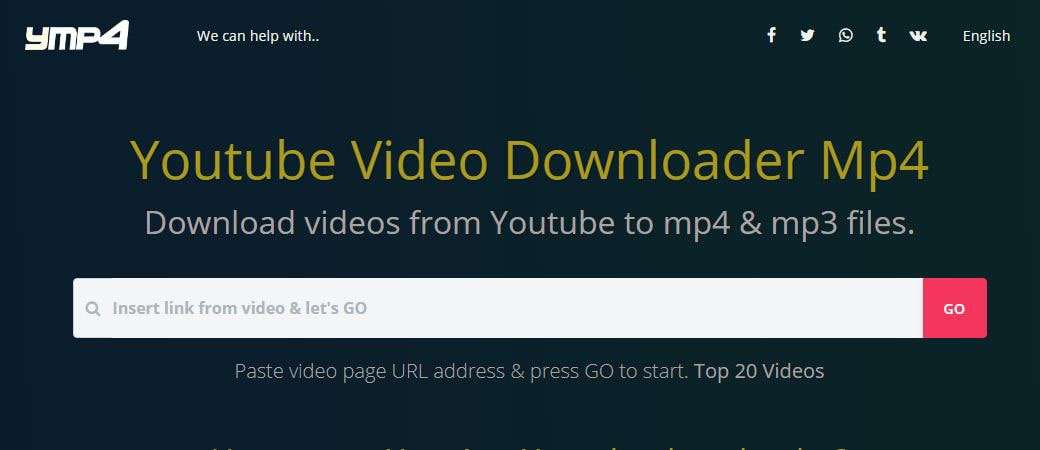 ymp4 Youtube downloader - Youtube to mp4 converter - Youtube to mp3